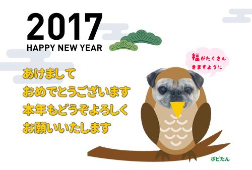 2017年 明けましておめでとうございます